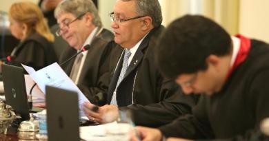 Des. Constantino Guerreiro presidiu sessão do Pleno desta quarta-feira, 27