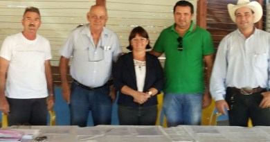 Mario Mattei, Joviano de Almeida Monica Correa , Vereador Macarrão e Pecuarista Mantovani