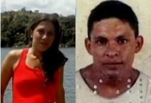 Leidiane e Daniel morreram após veículo invadir barricada. (Foto: Reprodução/ TV Liberal)