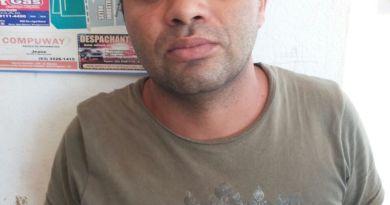 Gedelan da Silva Souza, 33,anos elemento de alta periculosidade o