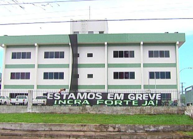 Eles pedem restruturação da carreira e da autarquia (Foto: Reprodução/TV Tapajós)