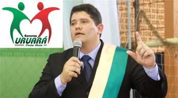 Everton Moreira, prefeito de Uruará