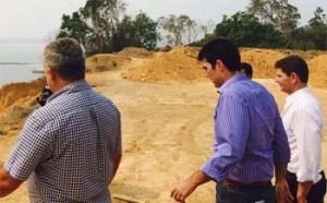 Ministro e deputados visitam obras dos portos