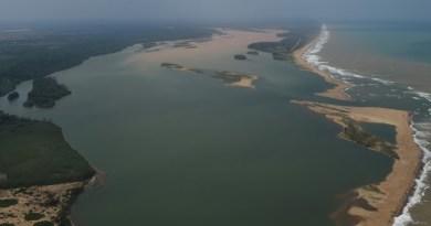 Foz do Rio Doce, em Regência, Linhares (Foto: Fred Loureiro/Secom-ES)Foz do Rio Doce, em Regência, Linhares (Foto: Fred Loureiro/Secom-ES)