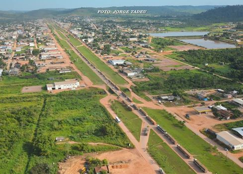Rodovia perímetro urbano de Novo Progresso