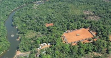 (Foto: Aldeia A'Ukre, no sul do Pará, onde foi realizado o estudo/Arquivo da pesquisadora)