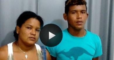 """(Foto Divulgação  Plantão 24 horas news -Itaituba) Keila e """"De menor"""""""