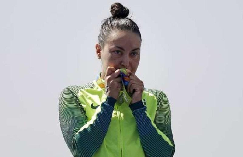 Poliana Okimoto (bronze) - maratona aquática