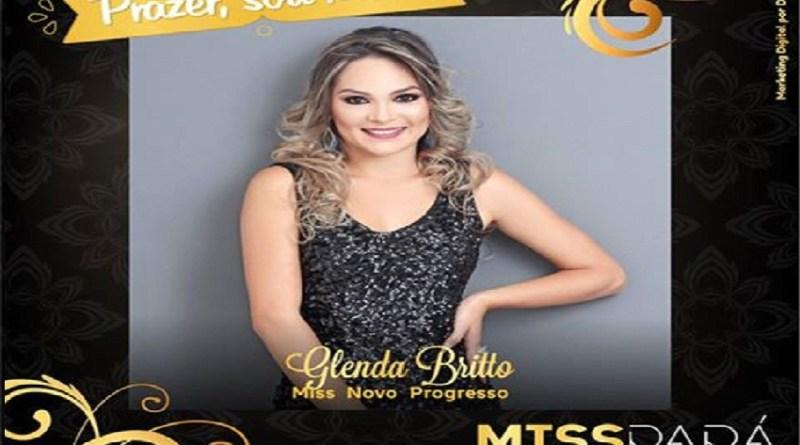 Miss progresso Glenda Brito Ficou em 14º lugar na disputa.