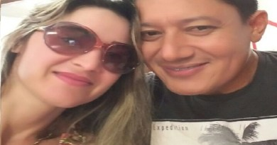 Professora Jucileia e Aluizio Bruno Barros Filho