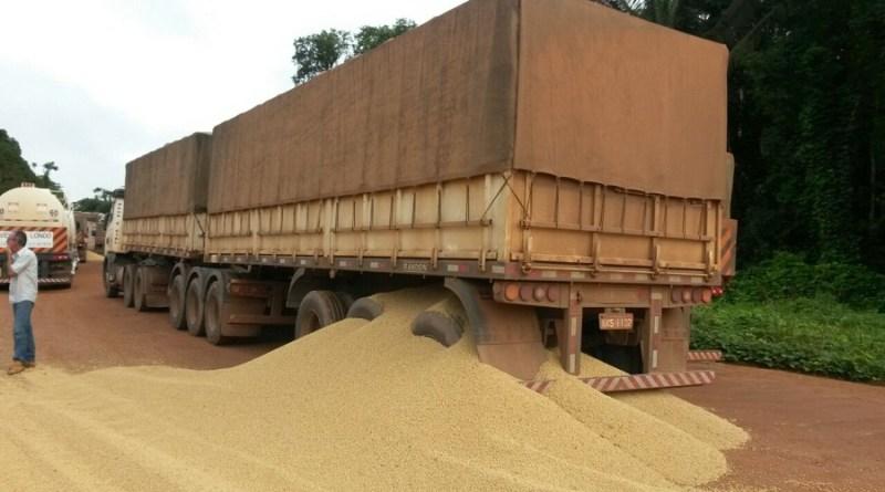 soja caminhão