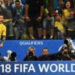 Brasil está classificado para a Copa de 2018