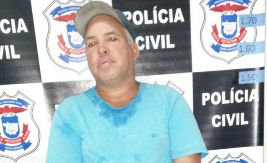 Preso no MT acusado de mandar matar líder rural de Xinguara.