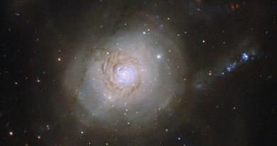 Telescópio capta imagem de estrela que ofuscou uma galáxia inteira