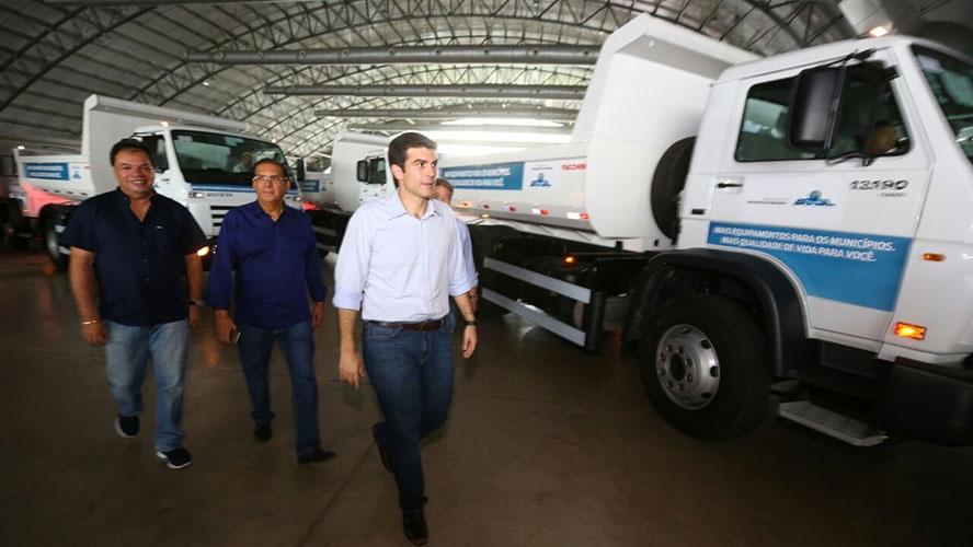 Município de Novo Progresso recebe caminhão