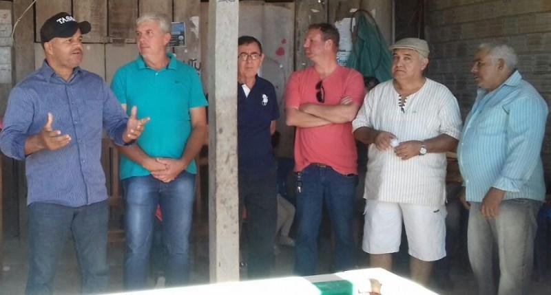 """Diretor executivo da FETRAFPA """"Roberto Aparecido de Passos"""""""