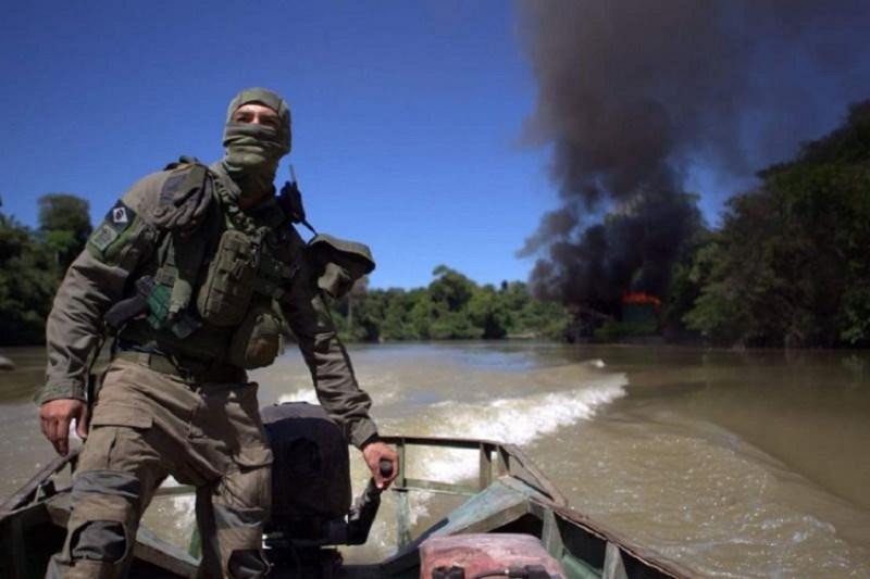 Grupo Especializado de Fiscalização do Ibama (Foto IBAMA)