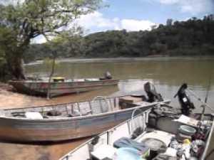 Jamanxim barcos usado para pesca
