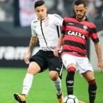 Corinthians para no Vitória e perde a primeira no Campeonato Brasileiro