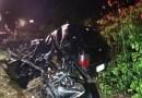 Três morrem em colisão entre carro e carreta na BR-163 em Sorriso