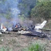 Avião monomotor cai em área de garimpo