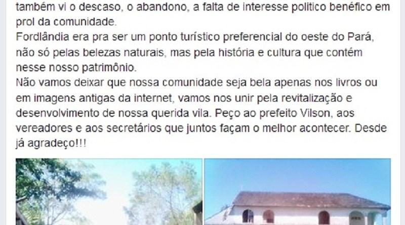 Fordlandia- Facebook.