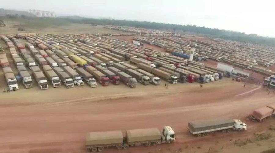 Caos em Miritituba -Seca ameaça transporte de balsas no Rio Tapajós no município de Itaituba