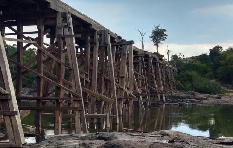 Ponte do Jamanxim (Foto:Arquivo Jornal Folha do Progresso)