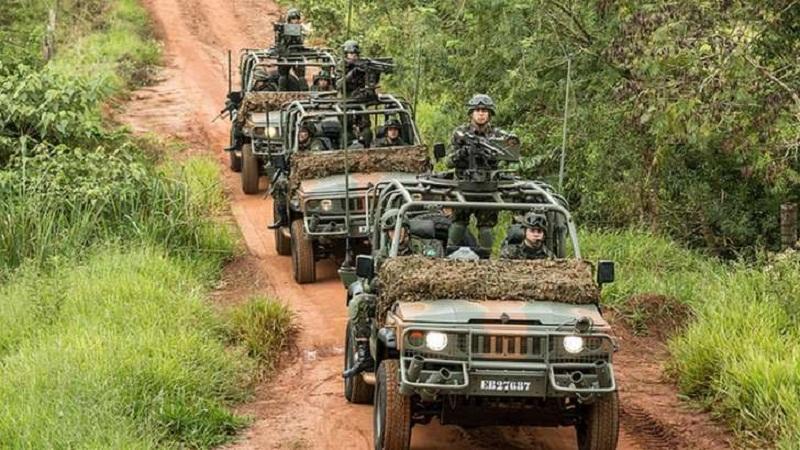 Veículos do Exército: 'Não cabe participar de uma dinâmica de caráter político e de caráter partidário', diz Villas Bôas | Foto: Exército Brasileiro/