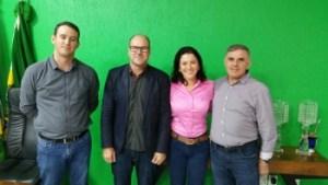Prefeita Sinop e grupo paraguai usina etanol