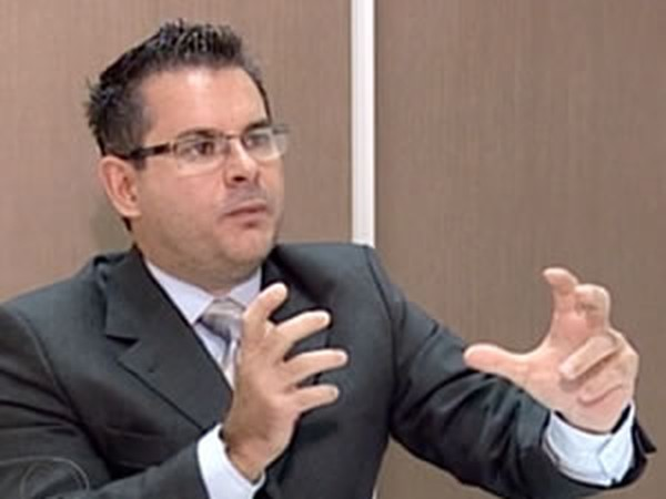 Juiz Paulo Martini foi condenado em 2016 pelo Tribunal de Justiça de Mato Grosso (TJMT); ele disse que está recorrendo da decisão no STF e no STJ (Foto: Reprodução TVCA)