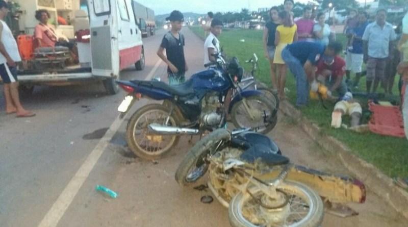 motos acidente