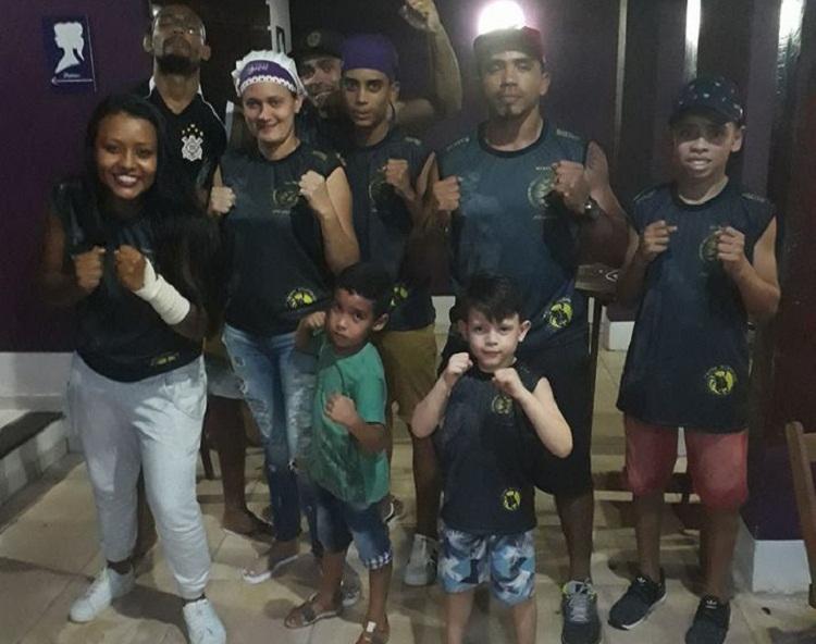 Torcida organizada Megga Açaí sempre torcendo por vc . Rangel (Foto Facebook)