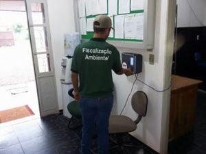 Servidor Publico usando biometria na SEMA-NP