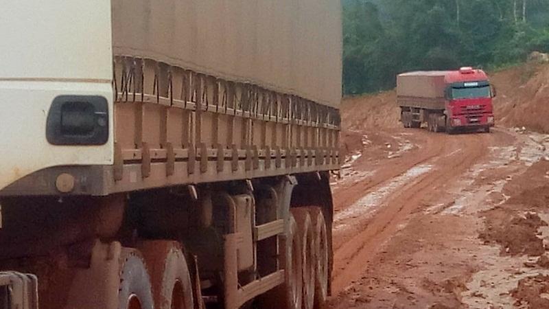 Transamazônica chegando em Rurópolis (Foto Adelar Belling)