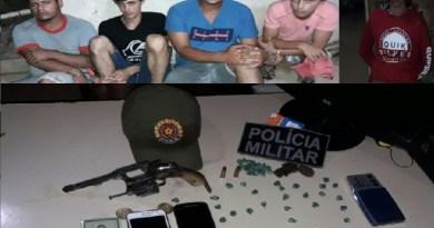 Presos em Moraes Almeida(Foto Policia)
