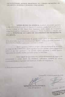 Carta Renuncia