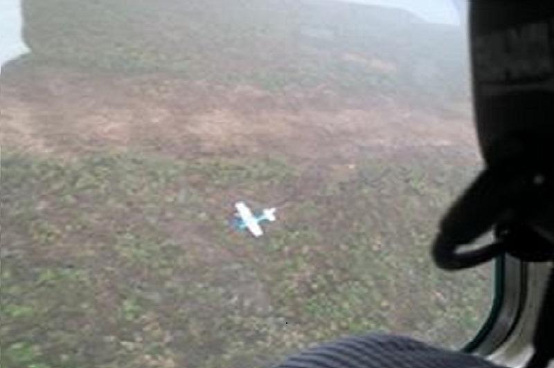 Avião que decolou do Mato Grosso  faz pouso forçado na Serra do Cachimbo em Novo Progresso