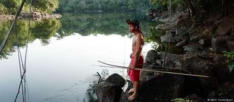 Madarejúwa é o protagonista de livro sobre Tenharins Foto: DW / Deutsche Welle