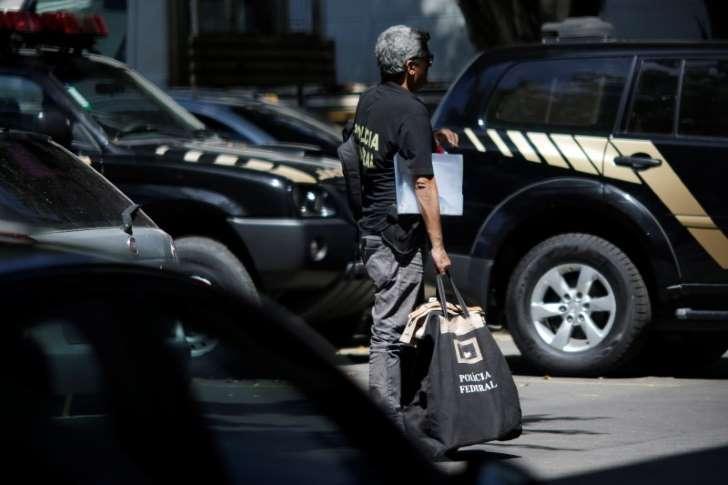 REUTERS/Ueslei Marcelino Agente da Polícia Federal no Rio de Janeiro