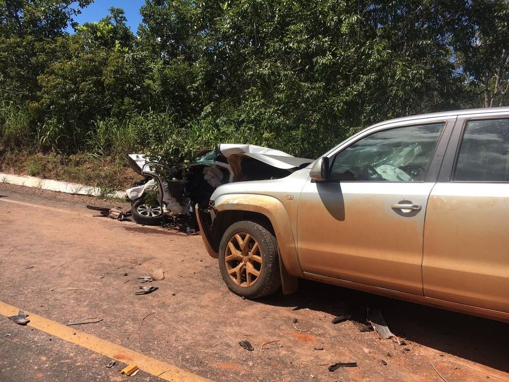 Prefeito sofre acidente de carro no interior de Mato Grosso