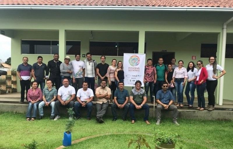 Representantes dos municípios no Primeiro Encontro dos Secretários de Meio Ambiente (Foto: Agência Pará/Divulgação)