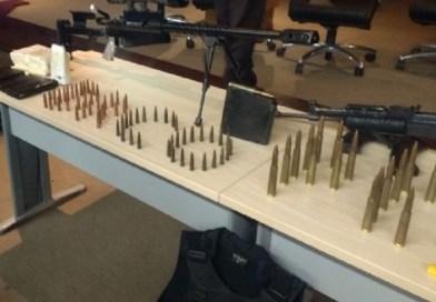 Homem investigado é preso com uma AK-47 no Pará