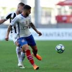Bahia marca gol aos 49 e Santos perde a primeira no Brasileirão