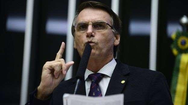 O deputado Jair Bolsonaro: Alguns analistas e políticos acham que Bolsonaro perderá força sem Lula na disputa (Foto Nilson Bastian / Câmara dos Deputados)