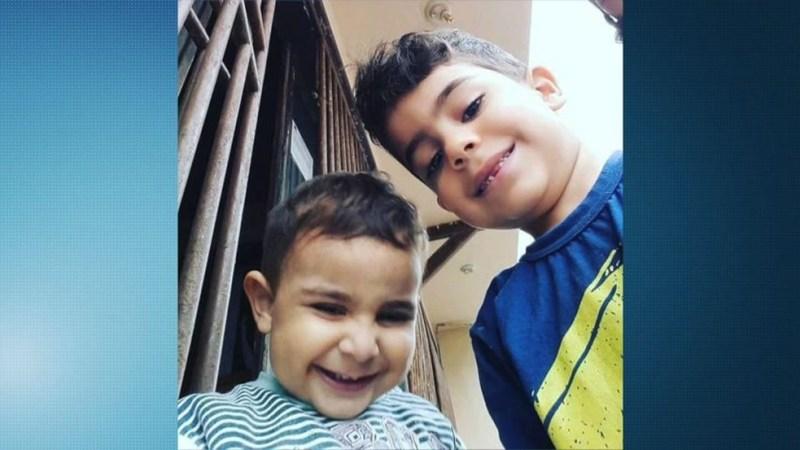 Irmãos morreram carbonizados em incêndio em Linhares, ES (Foto: Reprodução/ TV Gazeta)