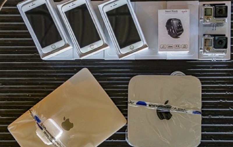 Receita Federal promove leilão com lotes de iPhone, MacBook e GoPro