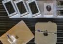 Receita Federal promove leilão com lotes de iPhone, MacBook e GoPro