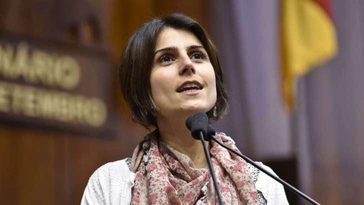 Manuela D'Ávila: O perfil mais radical de Manuela D'Ávila (PCdoB) tende a afastar eleitores conservadores de Lul (Foto Marcelo Bertani - ALRS )