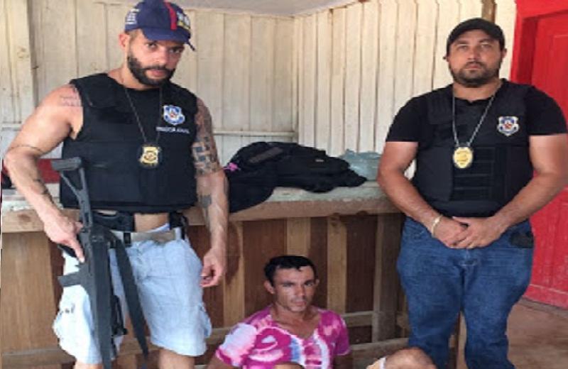 Foragido da Justiça e integrante do CV é preso no Cripurizão